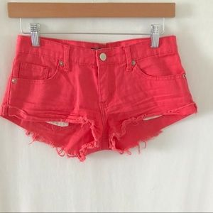 Forever 21 Shorts Size 24 Coral Color